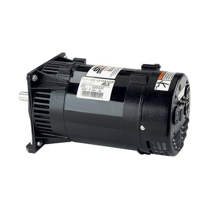 NorthStar 165913: Belt Driven Generator Head - 5,500 Surge Watts, 5,000 Rated Watts, 11 HP Required