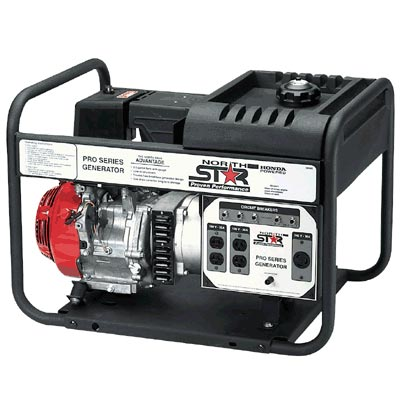 NorthStar 8000 Watt Honda 389cc Generator 6600 Watt Run 165914 Open Box NEW FREE Shipping (only 1 unit left!)