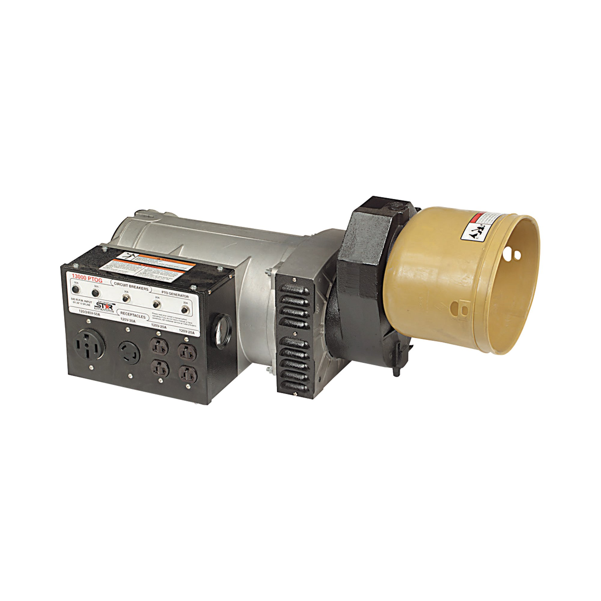 NorthStar 165929: PTO Generator - 3,000 Surge Watts, 12,000 Rated Watts, 24 HP Required