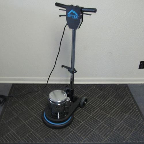 17 inch floor machine
