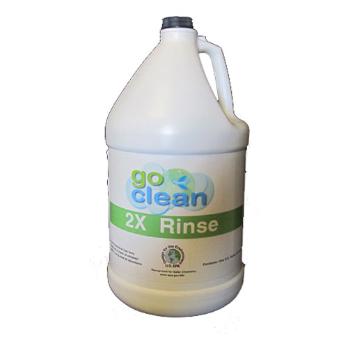 TriPlex GC-2XR4/1 Technical Services Go Clean 2x Rinse 4/1 Gallon Case