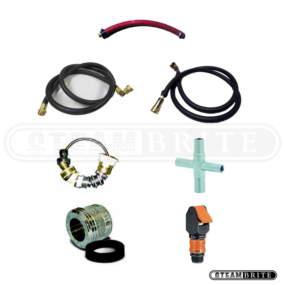 Clean Storm Complete Auto Fill and Auto Dump Hot Water Connection Kit 20121201