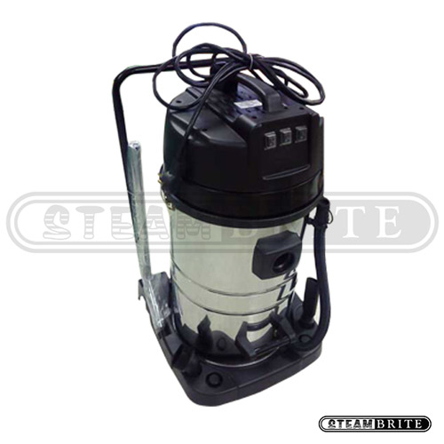 SteamBrite Clean Storm HEPA Triple Vacuum 3 Motor Triple Filter Wet Dry Shop Vac 20 Gallon Tank with Tool Kit 120v 20140606