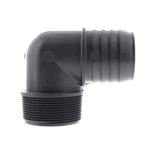 Clean Storm20148734 2in Mip X 2in Barbed 90 degree Elbow Truckmount Plastic Waste Tank Fitting