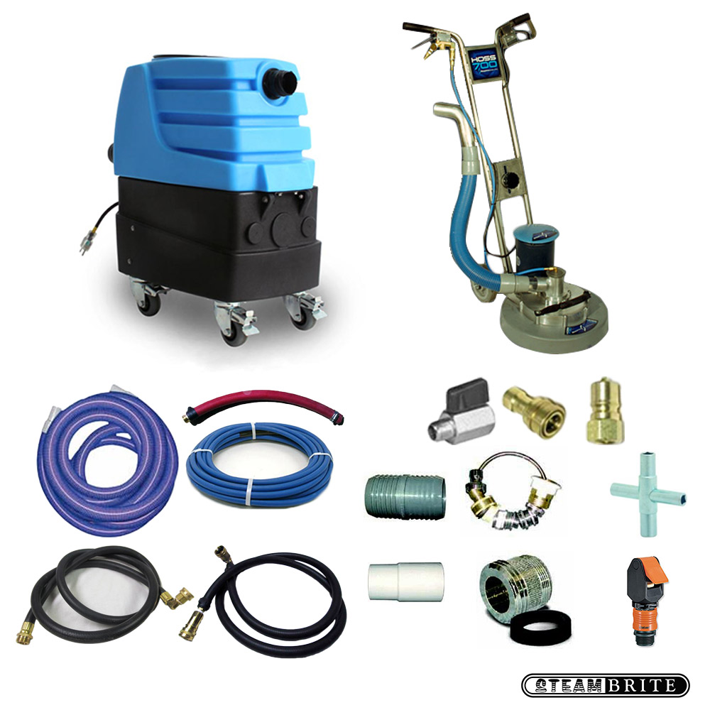 Rotary Power Wand Upgrade Kit With Auto Fill and Drain For Non Stop Cleaning Production Hoss 700 Mytee 7303LX  20151114