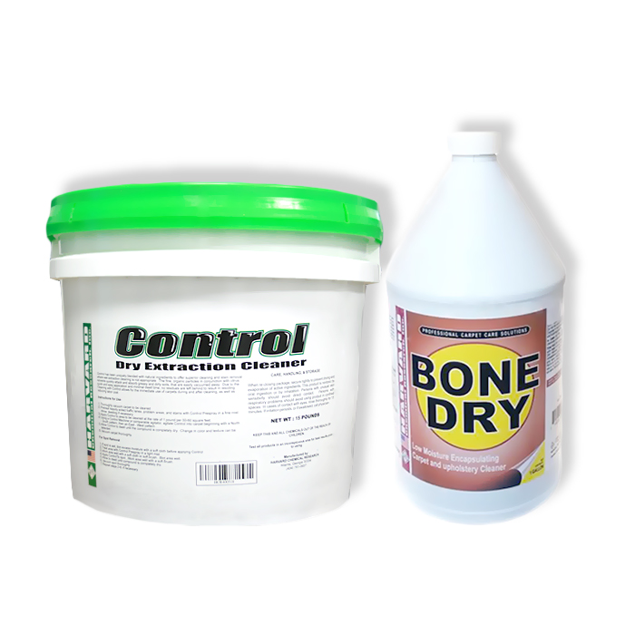 Harvard Chemical 20161206 CRB and VLM Encapsulation Cleaner Combination Bone Dry Plus Control
