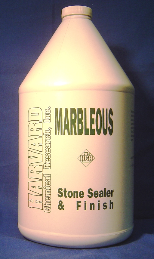 Harvard Chemical Marbleous Marble Sealer and Finish Case 4/1 Gallon Bottles 1055-4