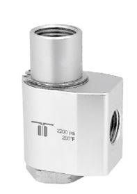Mosmatic 40.223 90° Swivel, stainless WDG 3/8 in. NPT F 1/2 in. NPT F