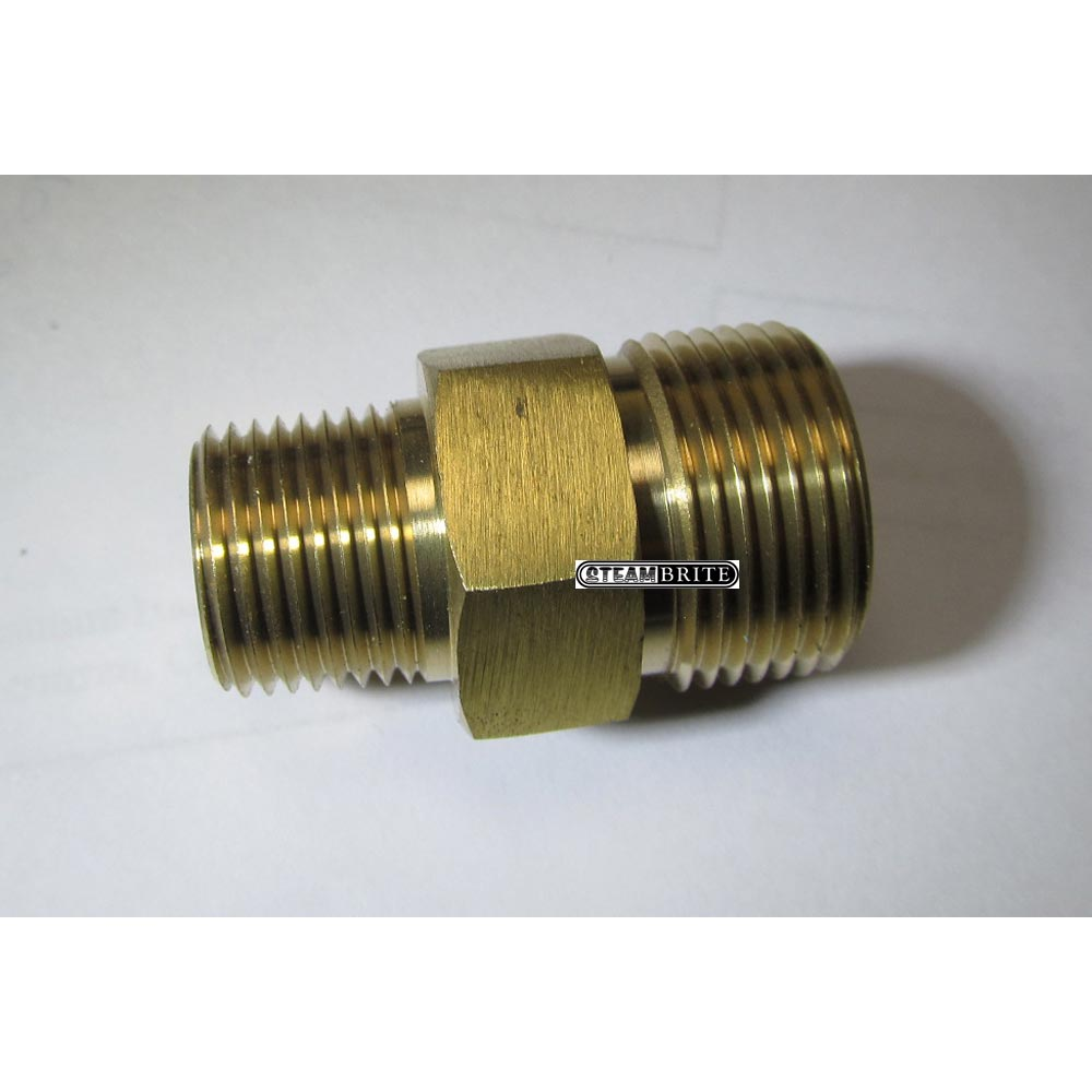 22mm Male Plug X 1/4in Mip Pressure Washer Coupler 85.300.132