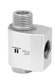 Mosmatic 40.231 90° Swivel, stainless WDG 1/2 in. NPT F 1/2 in. NPT M