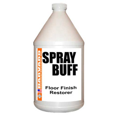 Harvard Chemical Spray Buff Case 4-1 Gallon Bottles 367804