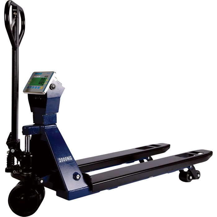 Adam Equipment Pallet Jack Truck with Scale 5,000-Lb. Capacity, Model# PTS 5000A + AE402  [25489]