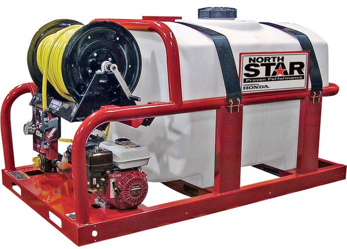 NorthStar 268170 Skid Sprayer  200-Gallon Capacity Tank 160cc Honda GX160 Engine
