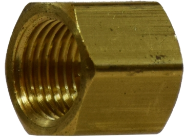 3/8 inch Brass Bar Stock Cap 28077