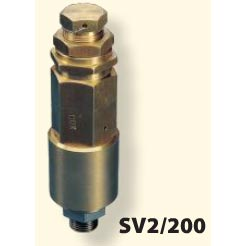 Pressure Pro 2900psi 1/2 M-BSP High Flow Safety Pressure Relief Valve 50 gpm Sewer Jetting