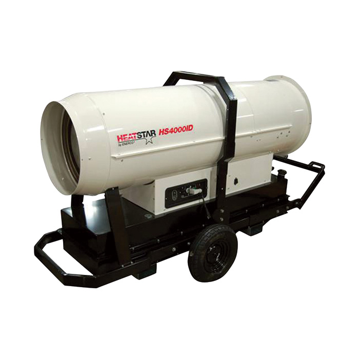HeatStar HS4000ID Portable Diesel Indirect Fired Heater 354,239 BTU's