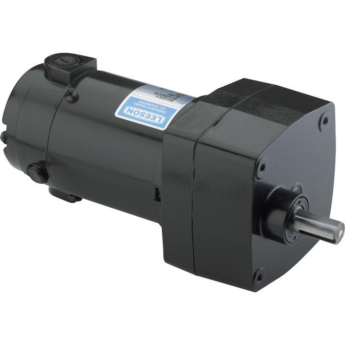 Leeson 12 volt 30 rpm gear motor 100 lbs torque 6 amps for for 12 volt hose reel motor