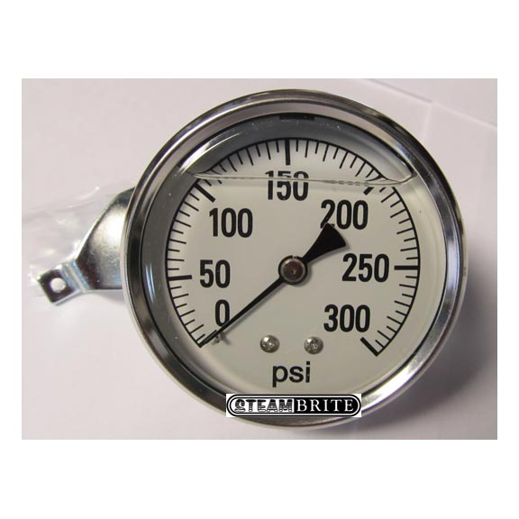 Clean Storm LFG-PM-300: Air and Water Pressure Gauge, 0-300 Psi S.S, Back - 8.710-252.0 - 2441 GXB 300