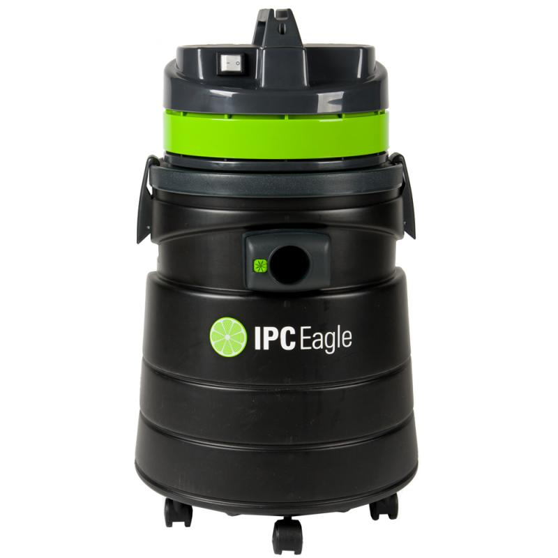 IPC Eagle S6315P-H Dry Vac, HEPA Critical Filtration, 12 Gallon, Includes 1.5 in.  hose, 3 piece plastic wand, bristle floor tool, round dusting brush and crevice tool