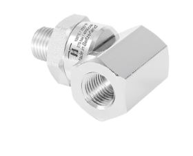 Mosmatic 32.543 Swivel-90° single-bearing-system DGK-90° 1/4 in. NPT M 1/4 in. NPT F