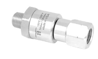 Mosmatic 32.752 Gun Swivel single-bearing-system,stainless steel DGVI 1/4 in. NPT M 1/4 in. NPT F
