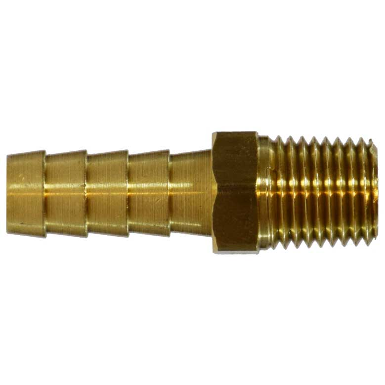 3/8in Hose Barbed X 3/4in Male Pipe Brass 32026