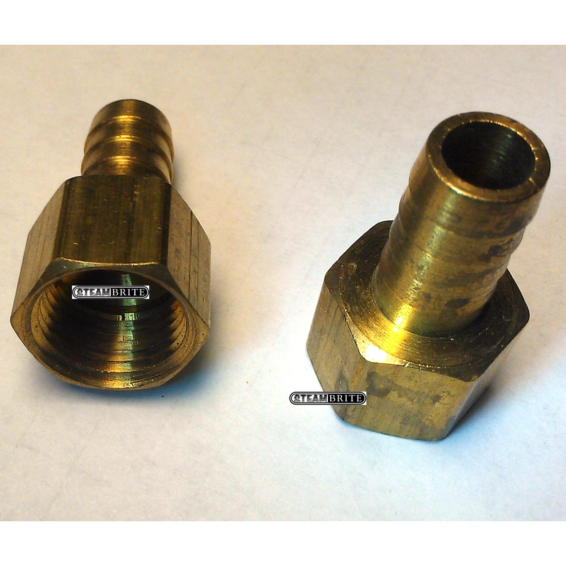 1/2inch Fip X 1/2 inch Barbed Adpt Brass 32061 Rigid Straight