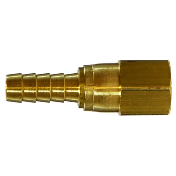 Clean Storm 32472: 1/4in Fipx Swivel X 3/8in Hose Barb Brass