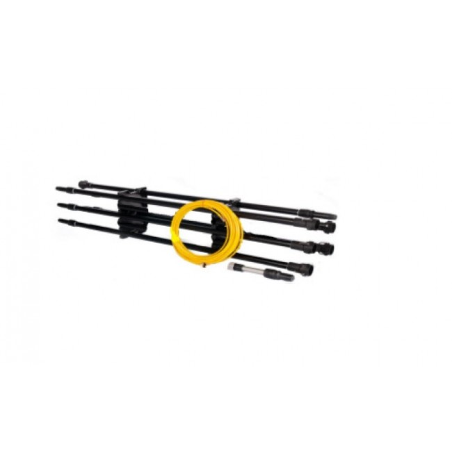 IPC Eagle BD500535-QL 6 - 5 ft. carbon fiber sections, 1- 2 1/2 ft carbon fiber section, 1- 65 ft. hose with fittings, and quick lock bag. Free Shipping