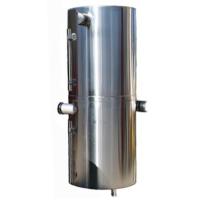 JE Adams 35000-3A Collector Stainless Steel (vacuum not included)