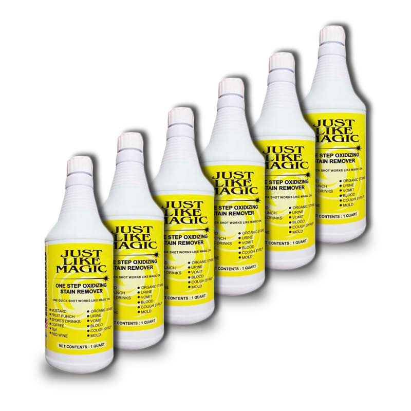 Harvard Chemical 3508-6 Just Like Magic One Step Oxidizing Stain Remover case of 6-32oz Bottles - 3501-6