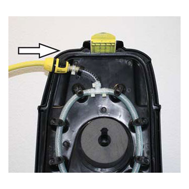 Karcher B 40 C Bp Auto Scrubber 4.035-369.0 Lid Rinse System ONLY Cover tank flushing system complete