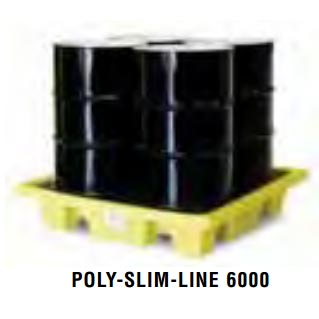 Spill Containment 4-Drum Poly-Spillpallet 6000 - 8.752-543.0 Legacy Shark