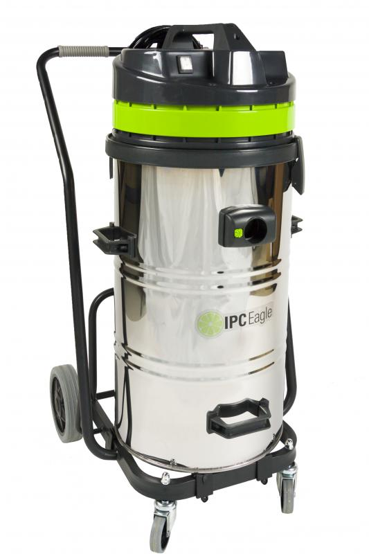 IPC Eagle S6415ST Wet/Dry Tip Vac, 24 Gal., Steel, 1 Motor. Includes 1.5 in. hose and Complete Standard 1.5 in.  Tool Kit 1.5 in. and polyester filter assembly