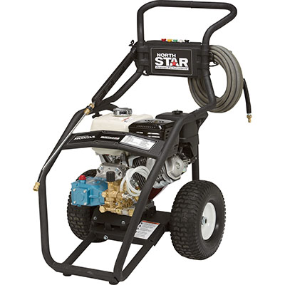 NorthStar Gas Cold Water Pressure Washer — 3.5 GPM, 4000 PSI, Model# 15782020 Free Shipping