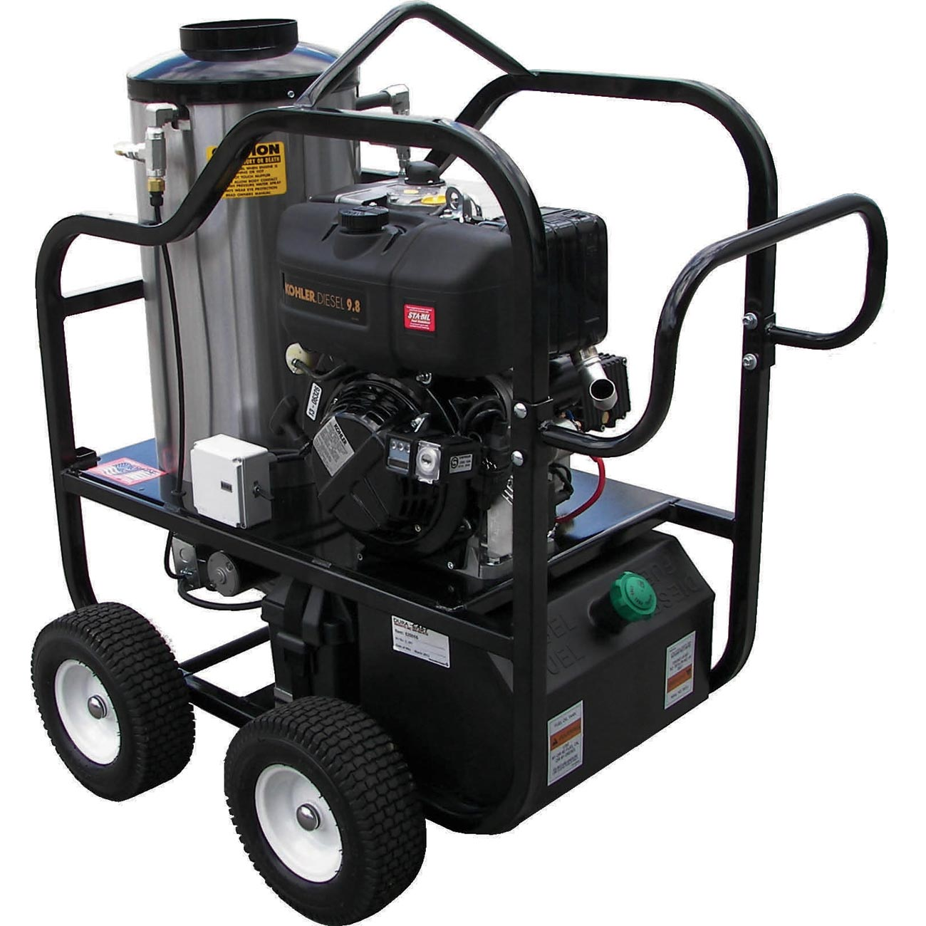 Pressure Pro 4012-15C 4 gpm 3200 psi Kohler KD420EX Diesel Cat Pump HOT Pressure Washer