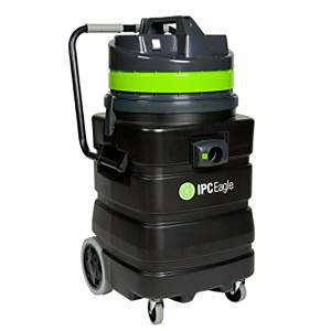 IPC Eagle S6415P-H Dry Vac, HEPA Critical Filtration, 24 Gal., 1 Motor. Includes 1.5 in. hose, 3 piece wand, bristle floor tool, dusting tool, crevice tool.