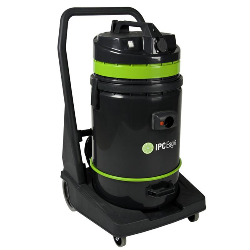 IPC Eagle S6415PLT Wet/Dry Tip Vac, 19 Gal., Poly, 1 Motor. Includes 1.5in. hose and Complete Standard 1.5in.  Tool Kit 1.5in. and polyester filter assembly