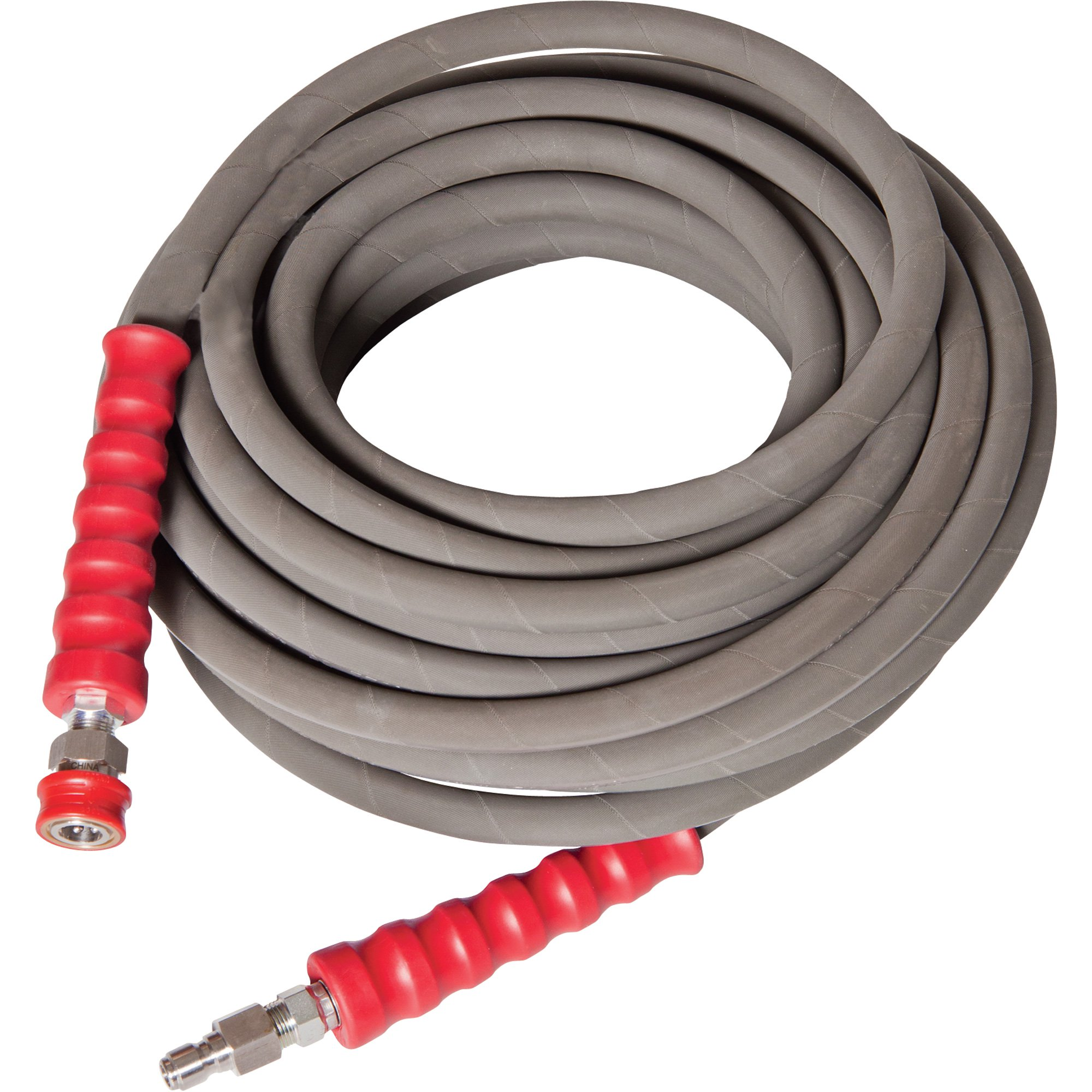 NorthStar Hot Water Nonmarking Pressure Washer Hose — 6000 PSI 50ft. x 3/8in. - 42946 - 989401984