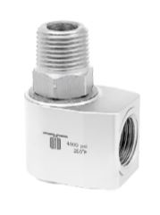 Mosmatic 43.354 90° Swivel, stainless WDC-12 1/2 in. NPT F 1/2 in. NPT F