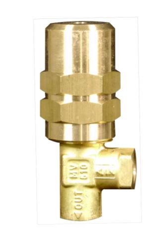 Pumptec 70030 Pressure Regulator 0-600 PSI - 1/4 F (2) Inlet Bypass Ports 70030 MV510 Series No Lock Nut
