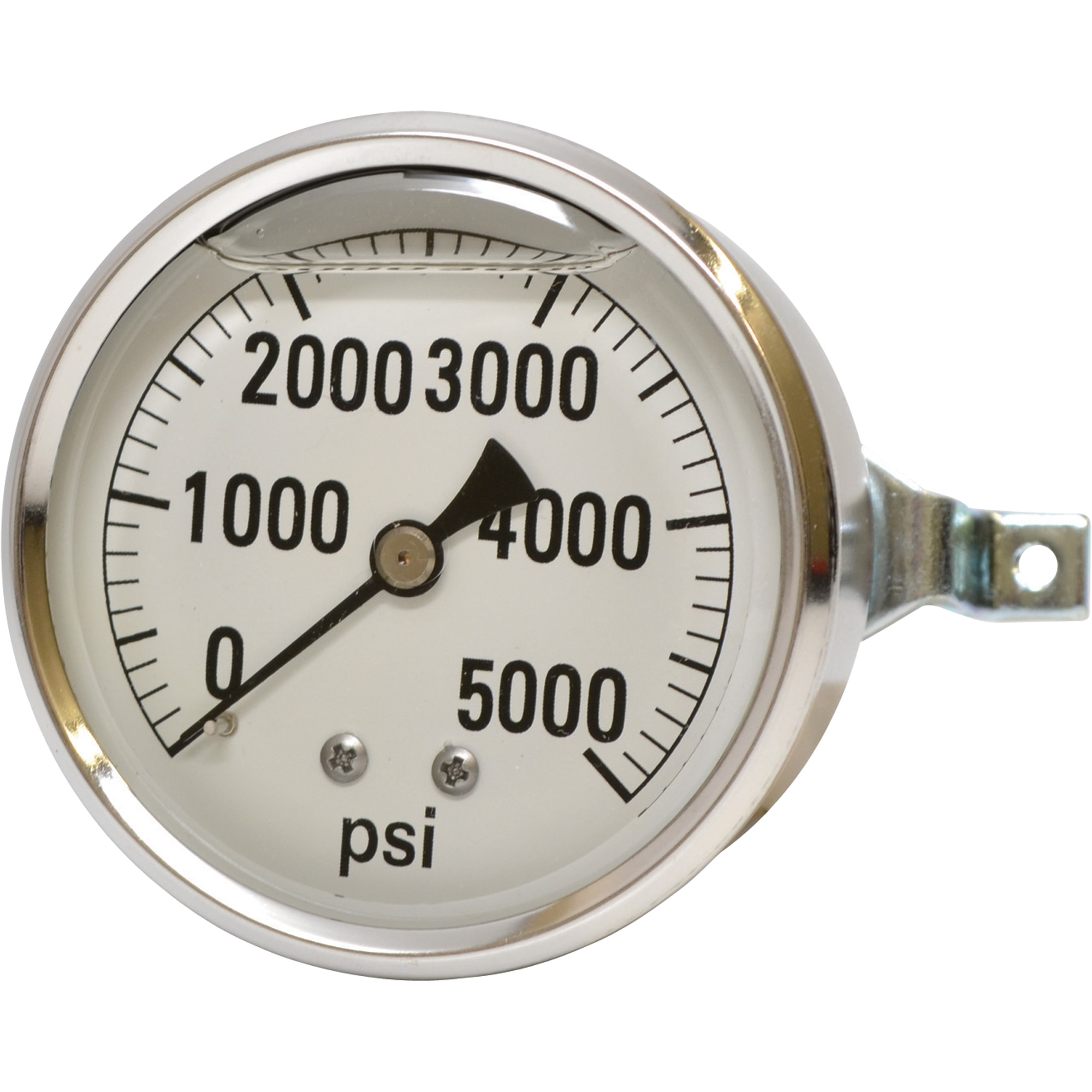 Pressure Gauge 5000 Psi S.S. Back connection 8.914-832.0  [89148320]  LFG-PM-5000