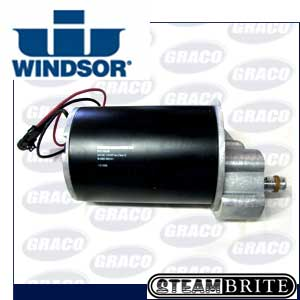 Windsor Ind Century 400 24volt 200rpm .75hp Brush Motor with Gear Box 53630  8.600-532.0