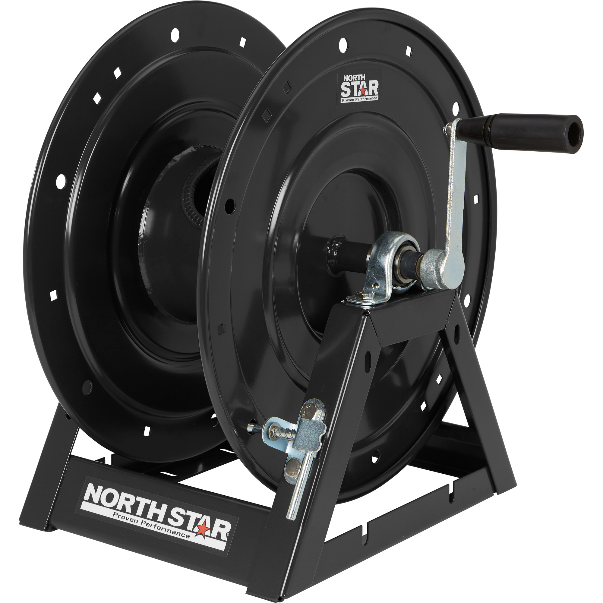 NorthStar 55791 Heavy-Duty A-Frame Hose Reel - 5000 PSI, 150ft. Capacity