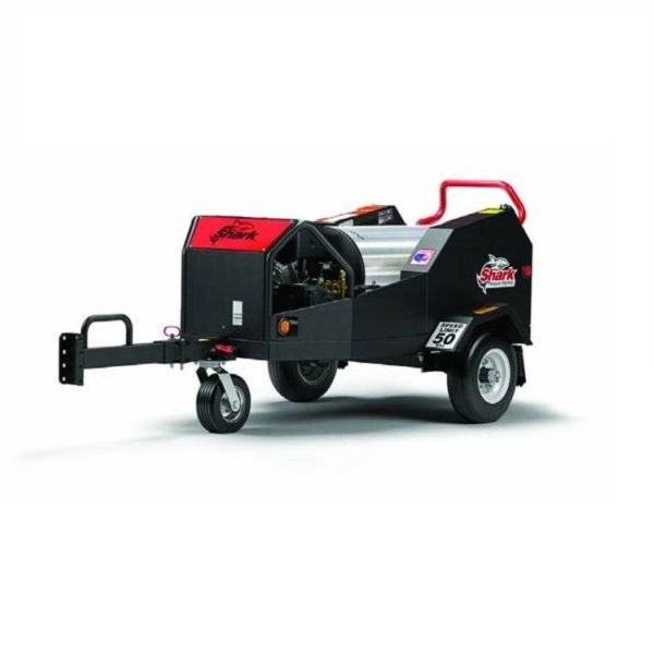 Shark Tiger Shark Trailer Mounted Hot 3.5 GPM 4000 PSI Electric Start Pressure Washer SMT-354037E 1.103-841.0