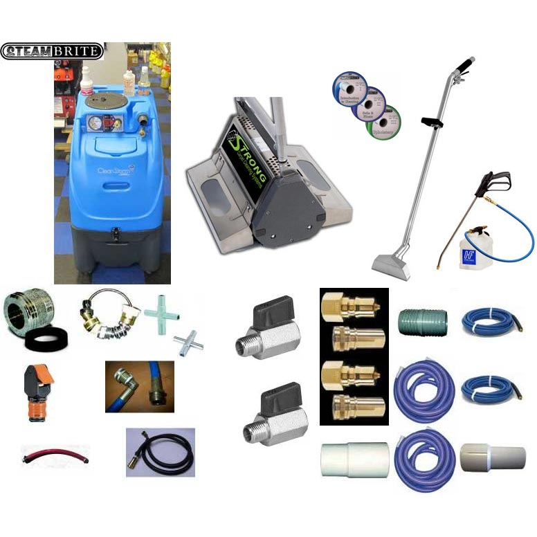 Clean Storm 6.6 CRB-20 500psi Speed Package Carpet Cleaning System Bundle (Free Shipping)