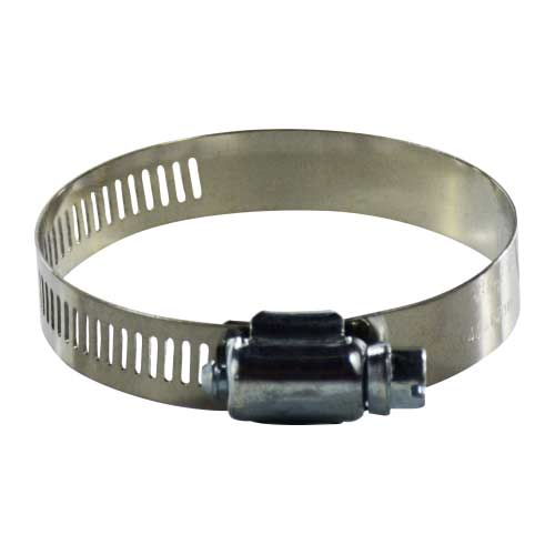 Clamp Hose 60020 3/4 in to 1-13/4 in ID Worm Drive X 1/2in Wide Stainless band