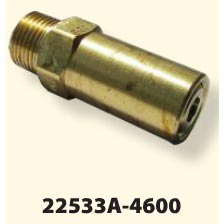 General Pump 100534 6000psi 3/8Mip 6 gpm 195 degree Pressure Relief Valve 100534P  10053446
