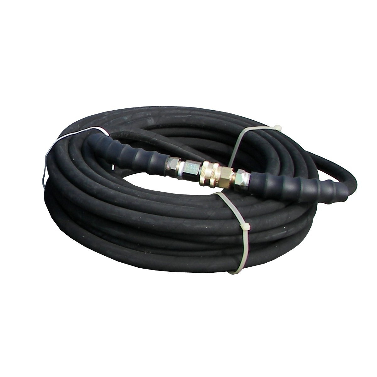 BE Pressure 85.238.153 Pressure Washer 1 Wire Hose 50 ft X 3/8 ID 4200 psi with QC Assembly