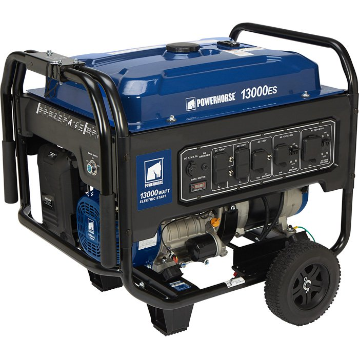 Powerhorse 750138 Portable Generator 4000 Surge Watts, 3100 Rated Watts, EPA Compliant 212cc (Limited Stock)